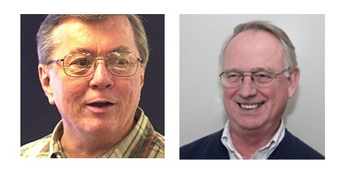 George Gates (left) and Bob Stump.